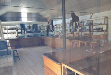 Post trader's store at Fort Laramie National Historic Site in Wyoming