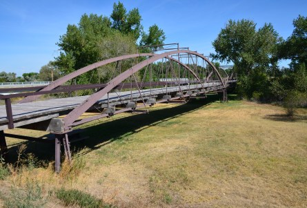 North Platte River Bridge at Fort Laramie National Historic Site in Wyoming