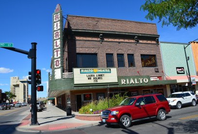 Rialto Theater in Casper, Wyoming