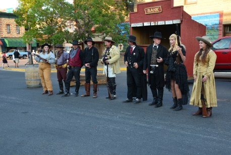 Cody Gunfighters in Cody, Wyoming