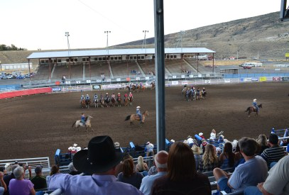 National Anthem at Stampede Park in Cody, Wyoming