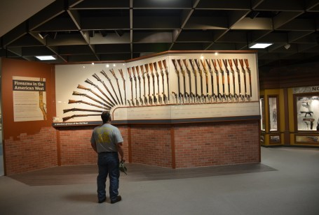 Cody Firearms Museum at the Buffalo Bill Center of the West in Cody, Wyoming