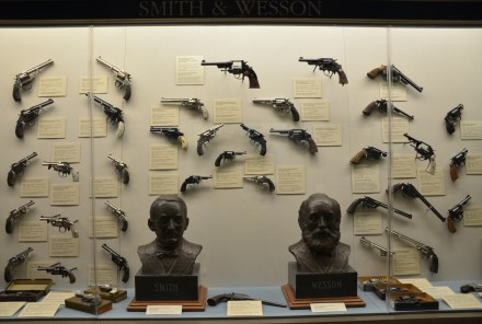 Smith & Wesson at the Cody Firearms Museum at the Buffalo Bill Center of the West in Cody, Wyoming