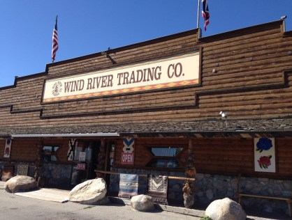 Wind River Trading Co. in Fort Washakie, Wyoming
