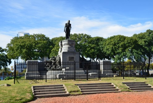 Almirante Guillermo Brown monument in Buenos Aires, Argentina