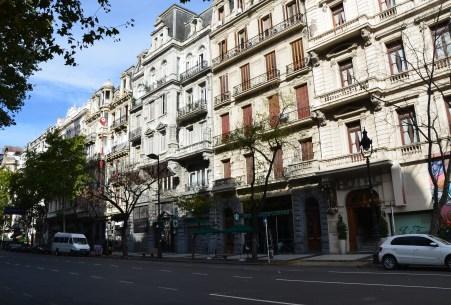Avenida de Mayo in Buenos Aires, Argentina