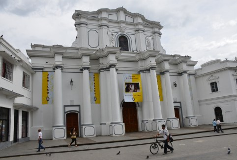 Catedral Basílica Nuestra Señora de la Asunción in Popayán, Cauca, Colombia
