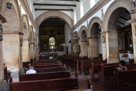 Iglesia de San Agustín in Popayán, Cauca, Colombia
