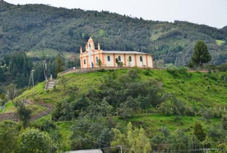 La Colina de Belén in Silvia, Cauca, Colombia