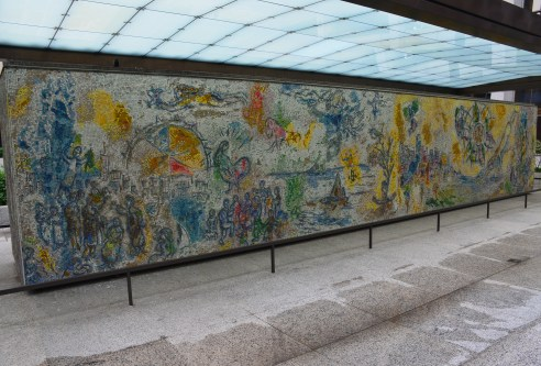 Four Seasons by Marc Chagall in Chicago, Illinois