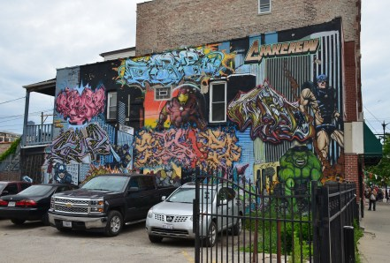 18th and Bishop in Pilsen, Chicago, Illinois