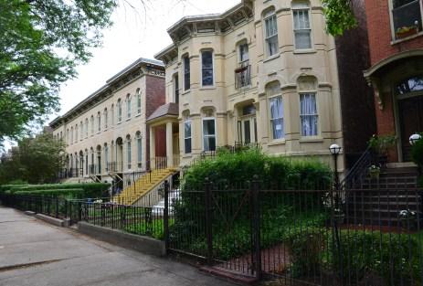 Lexington Street in Chicago, Illinois