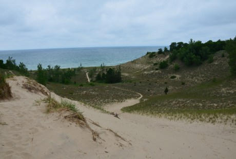 Beach House Blowout on Trail #9 at Indiana Dunes State Park