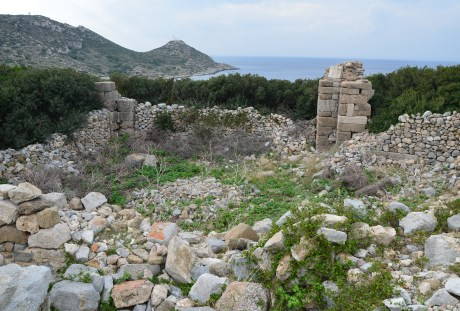 Bouleuterion at Knidos on Datça Peninsula, Turkey