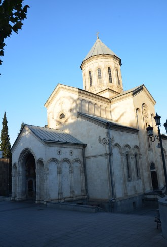 Kashveti Church in Tbilisi, Georgia