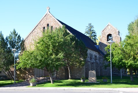St. Mary Magdalene Catholic Church in Evanston, Wyoming