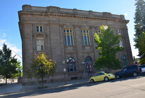 US Courthouse and Post Office in Evanston, Wyoming