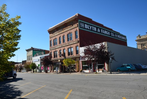 Blyth & Fargo Building in Evanston, Wyoming