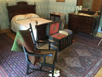 Fanny's room at the John J. Glessner House in Chicago, Illinois