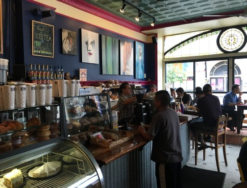 Café Jumping Bean in Pilsen, Chicago, Illinois