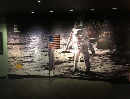 Mission Moon at the Adler Planetarium in Chicago, Illinois