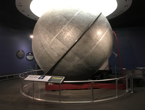 Historic Atwood Sphere at the Adler Planetarium in Chicago, Illinois