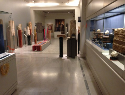 Antiquities Gallery at the Benaki Museum in Athens, Greece