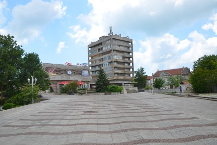 Square in Kavarna, Bulgaria