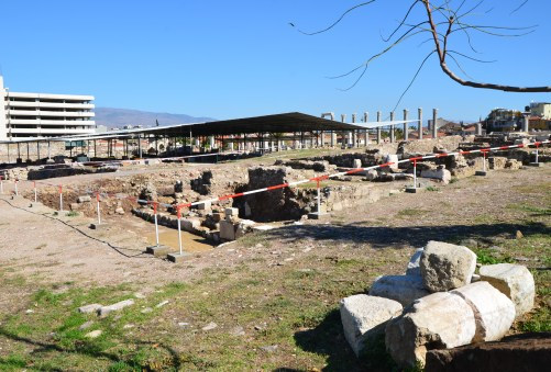 This area was off limits at the Smyrna Agora in Izmir, Turkey