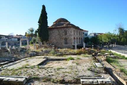 Fethiye Mosque at the Roman Forum in Athens, Greece