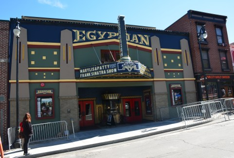 Egyptian Theatre in Park City, Utah