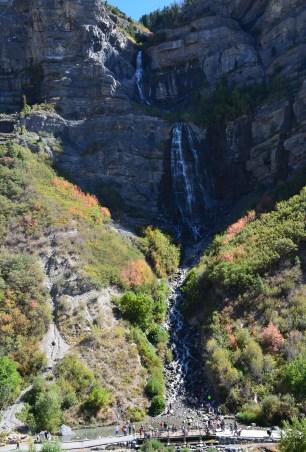 Bridal Veil Falls in Utah