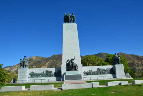 This Is the Place Monument in Salt Lake City, Utah
