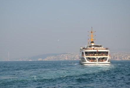 Ferry in Istanbul, Turkey