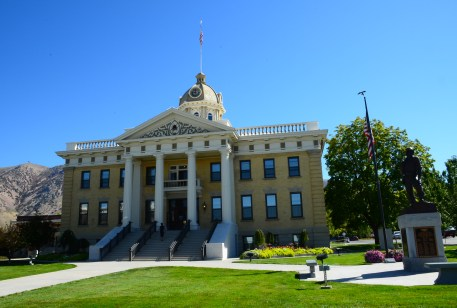 Box Elder County Courthouse in Brigham City, Utah
