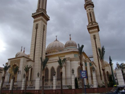 Al-Rahman al-Rahim Mosque in Cairo, Egypt