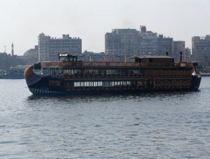 Dinner boat in Cairo, Egypt