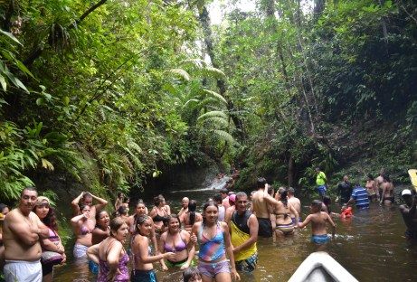 Piscina Sardineras at Parque Nacional Natural Uramba Bahía Málaga in Colombia