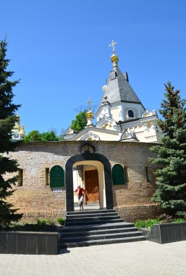 Church of Our Lady of the Life-Giving Spring at Kiev Pechersk Lavra in Kiev, Ukraine