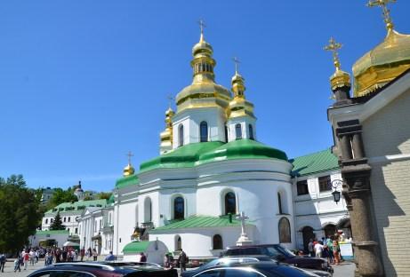 Church of the Exaltation of the Holy Cross at Kiev Pechersk Lavra in Kiev, Ukraine