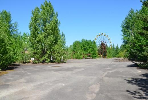 Amusement park in Pripyat, Chernobyl Exclusion Zone, Ukraine