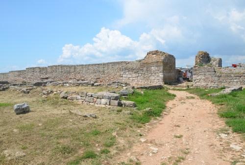 Second defensive wall at Kaliakra, Bulgaria