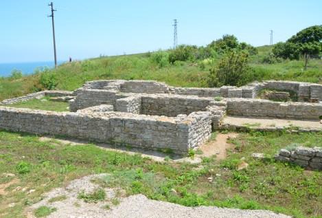 Roman bath at Kaliakra, Bulgaria
