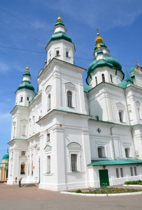 Holy Trinity Cathedral at Trinity Monastery in Chernihiv, Ukraine