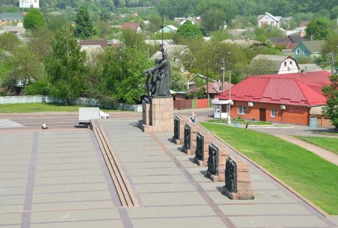 Memorial to the Soldiers and Liberators of the Ukraine in Chernihiv, Ukraine