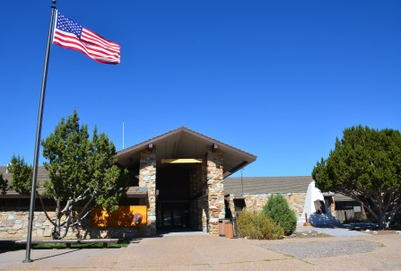 Visitor center at Golden Spike National Historic Site, Promontory Summit, Utah