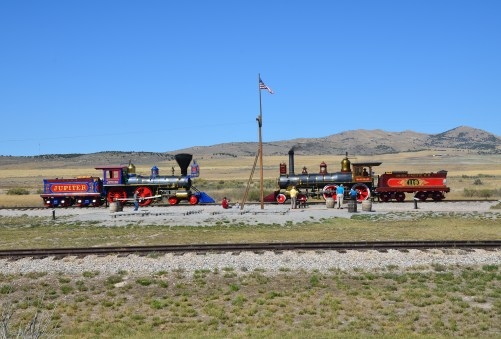 Golden Spike National Historic Site, Promontory Summit, Utah