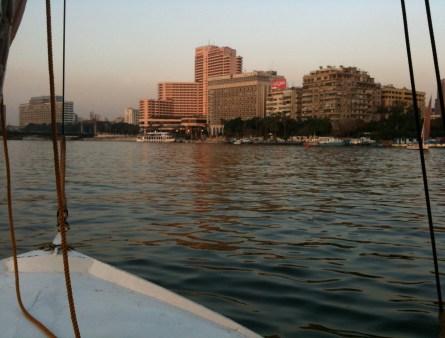 Felucca ride in Cairo, Egypt