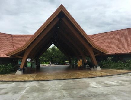 Entrance at Bioparque Ukumarí in Risaralda, Colombia