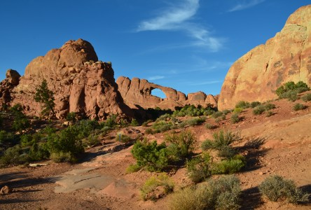 Skyline Arch at Arches National Park in Utah